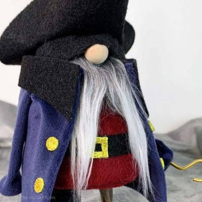 How to Make a Pirate Gnome for a Halloween Gnome or Just FUN!