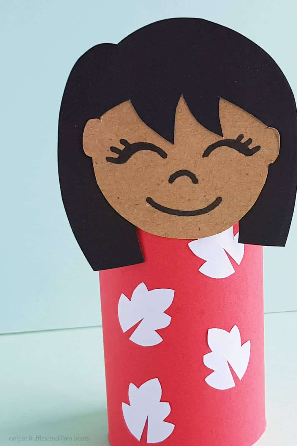 easy lilo paper craft for kids