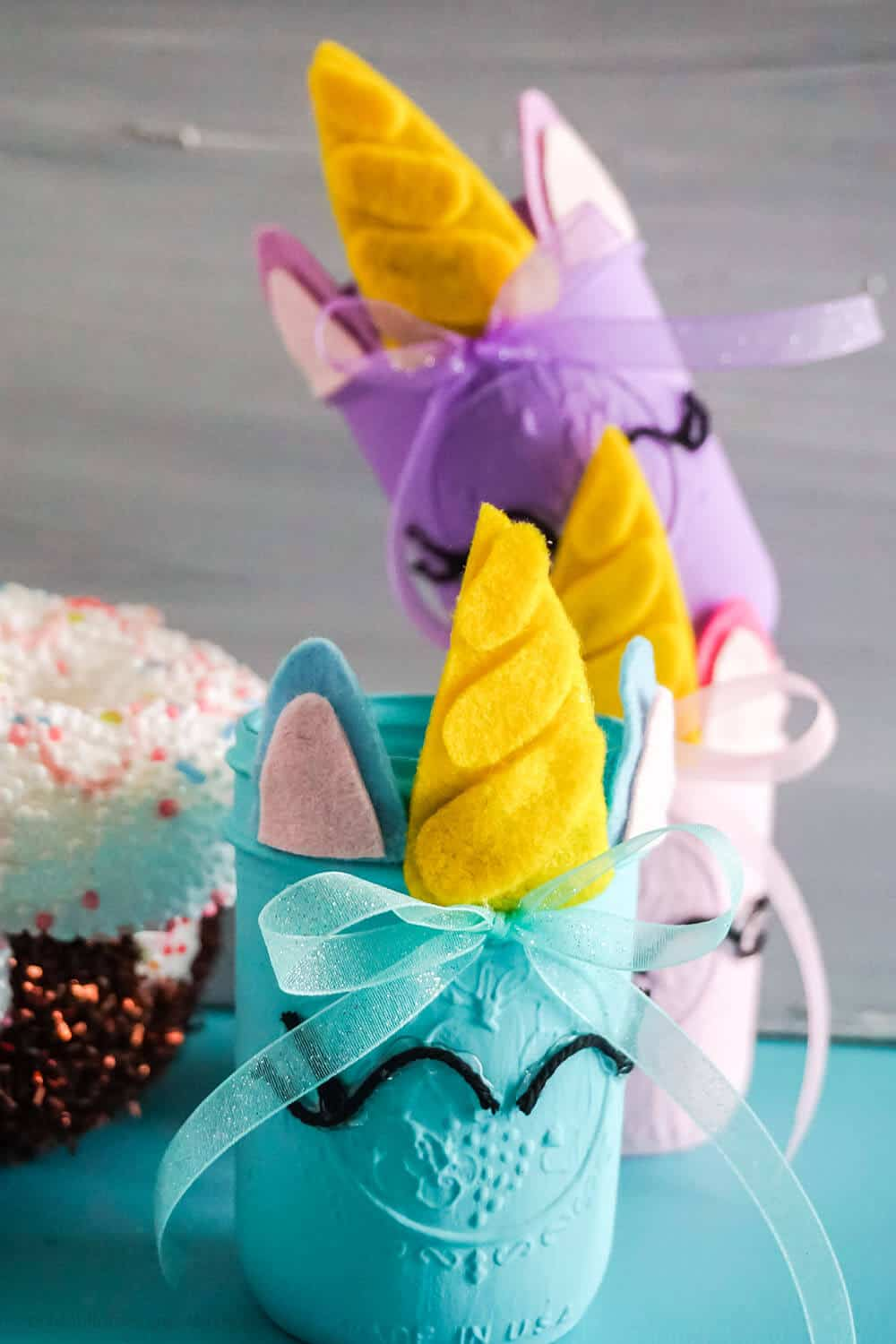 easy diy unicorn jar cut file set for cricut or silhouette