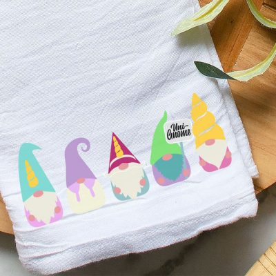 This Adorable Unicorn Gnome SVG Set is Perfect Sublimation Designs!