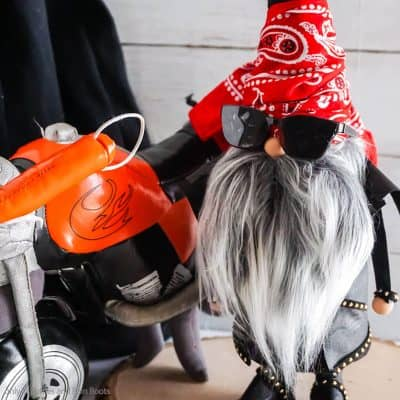 This Awesome Motorcycle Gnome Rocks – Or Is It Biker Gnome?