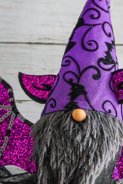 easy bat gnome dollar store craft in 10 minutes