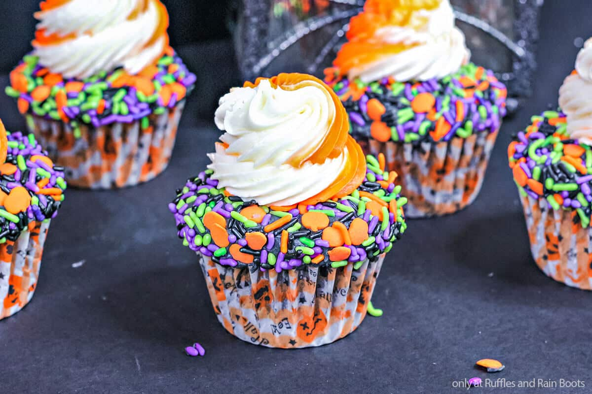 easy halloween cupcakes for a halloween party