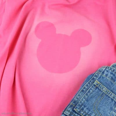 You Can Make This Dollar Store Mickey T-Shirt Super Fast!