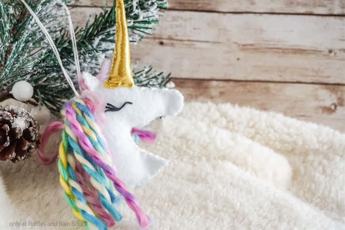 unicorn ornament unicorn cut file set