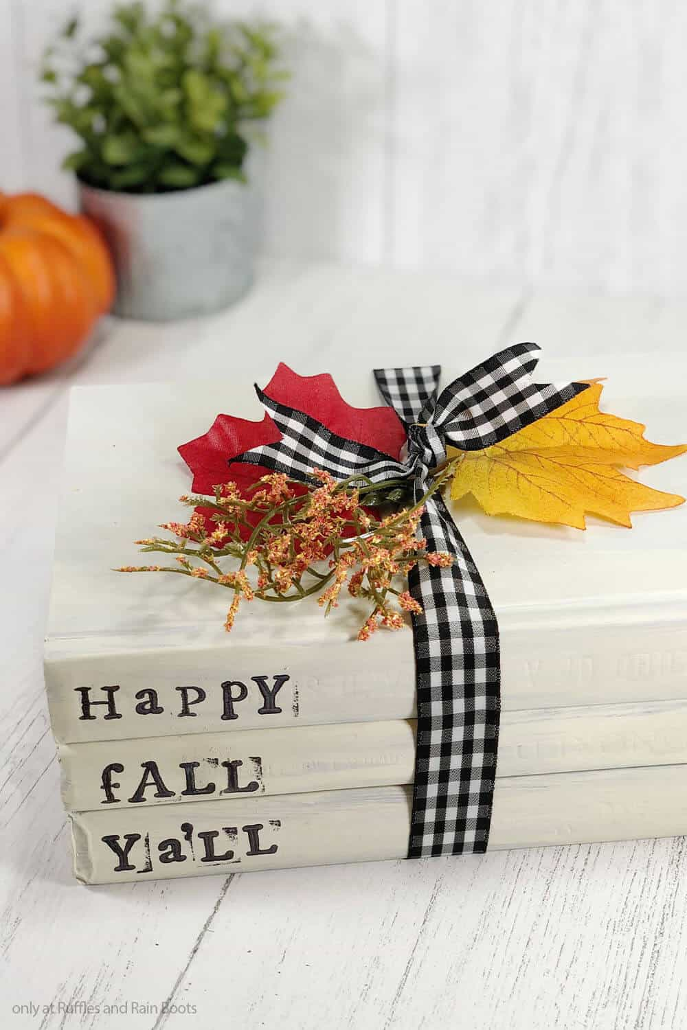 simple fall craft for farmhouse decor