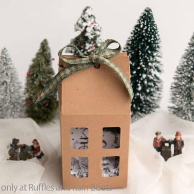 Make These Beautiful Gift Card Box Houses in Minutes!