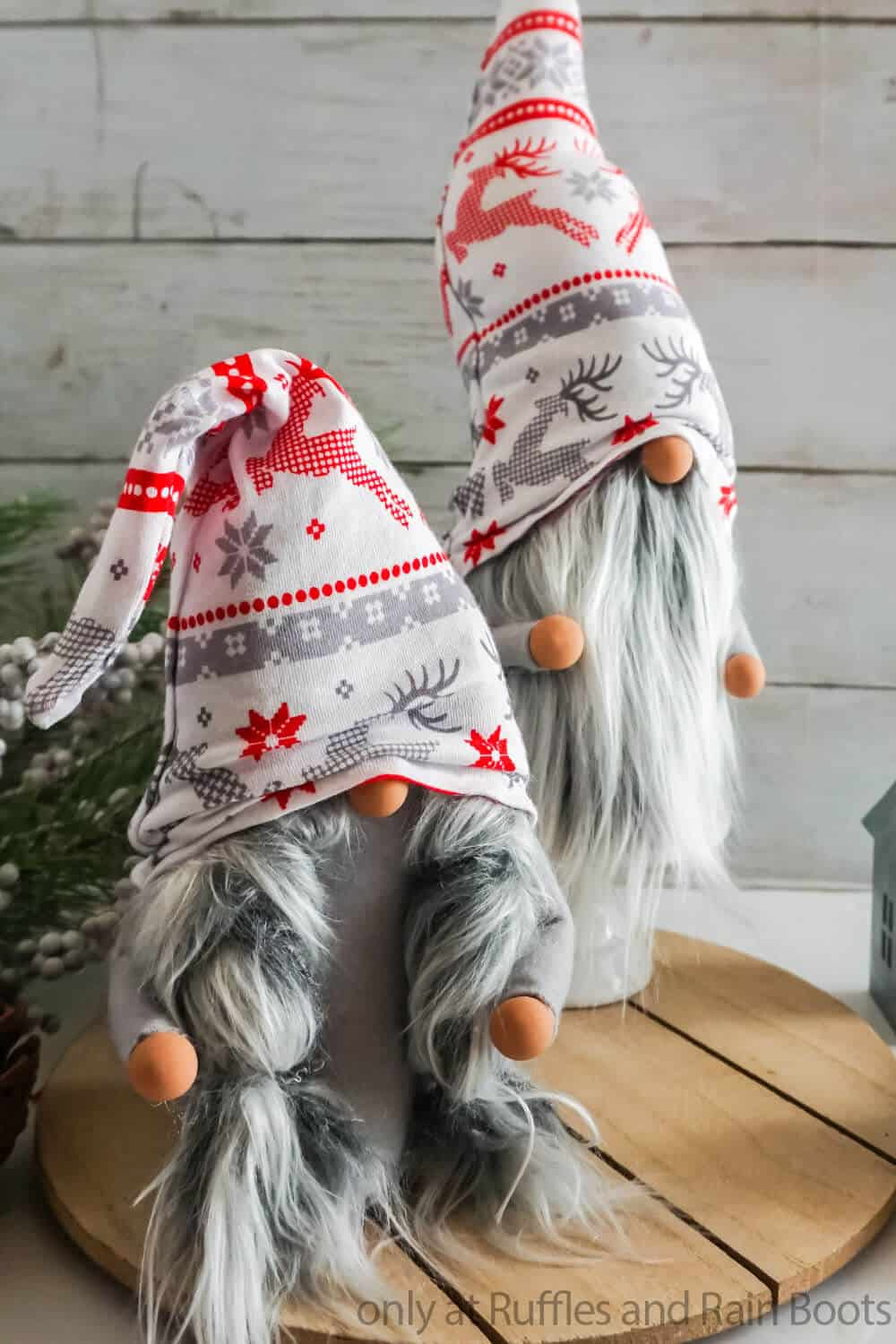 scandinavian christmas gnome tutorial