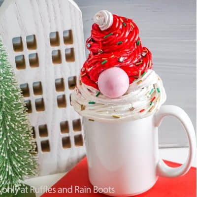 This Easy Gnome Mug Topper Is a Holiday Treat All It's Own!