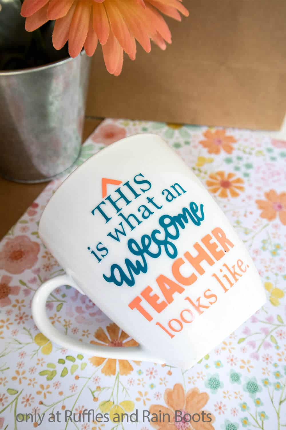 diy coffee cup cricut craft teacher appreciation gift