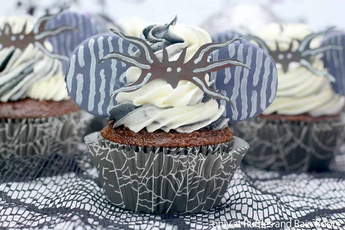 Jack Nightmare Before Christmas Cupcakes
