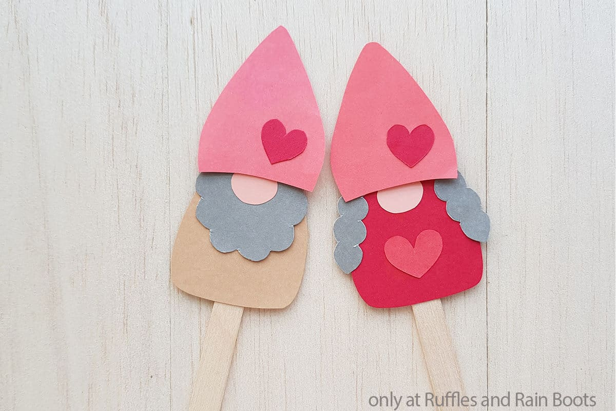 gnome craft for kids for valentines