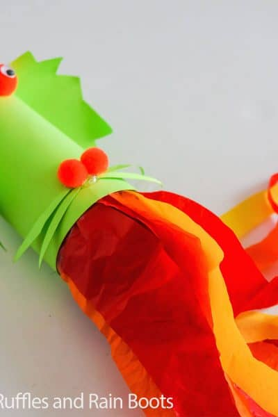 dragon blower paper craft for kids