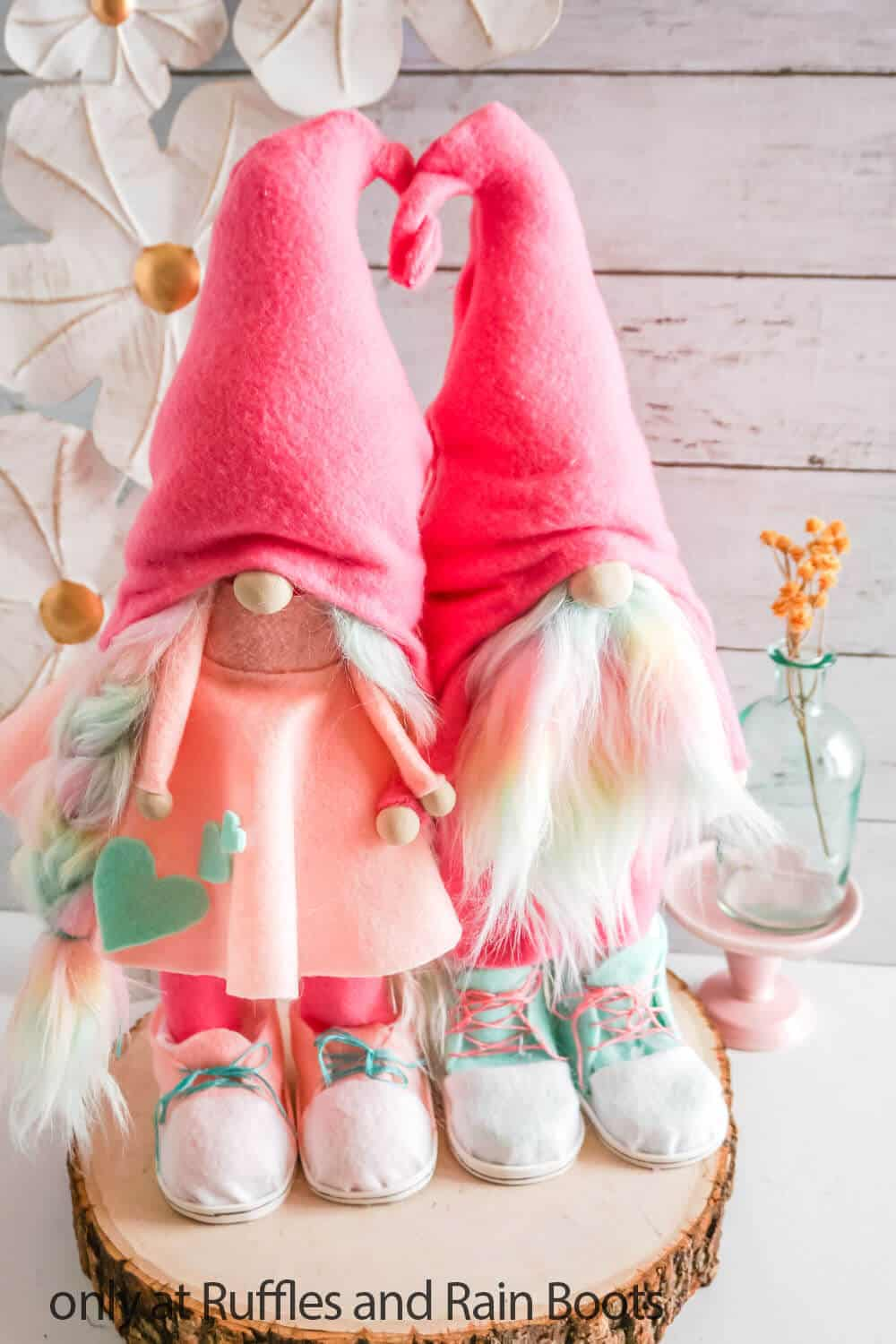 scandinavian gnome pattern for valentines