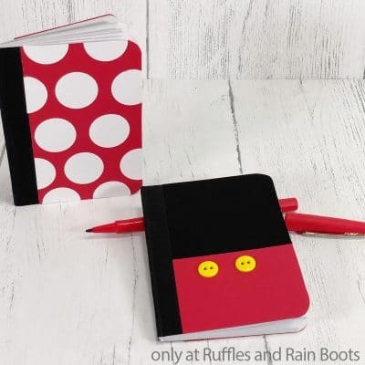 Make This DIY Mickey Notebook for a Fun Gift They'll Love!