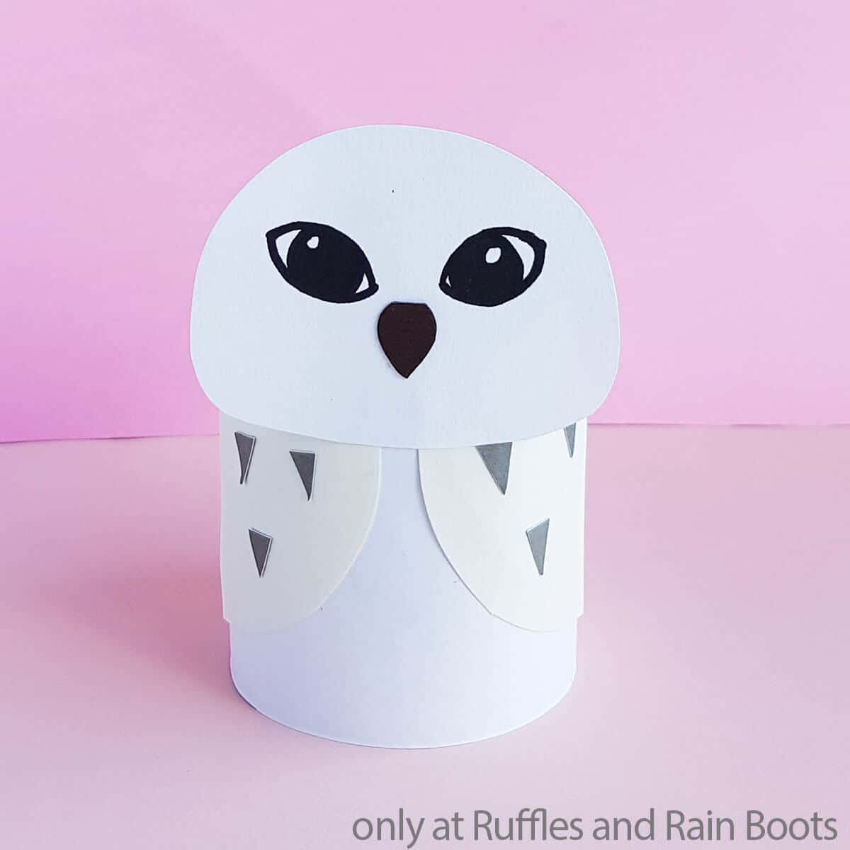 hedwig paper craft harry potter craft
