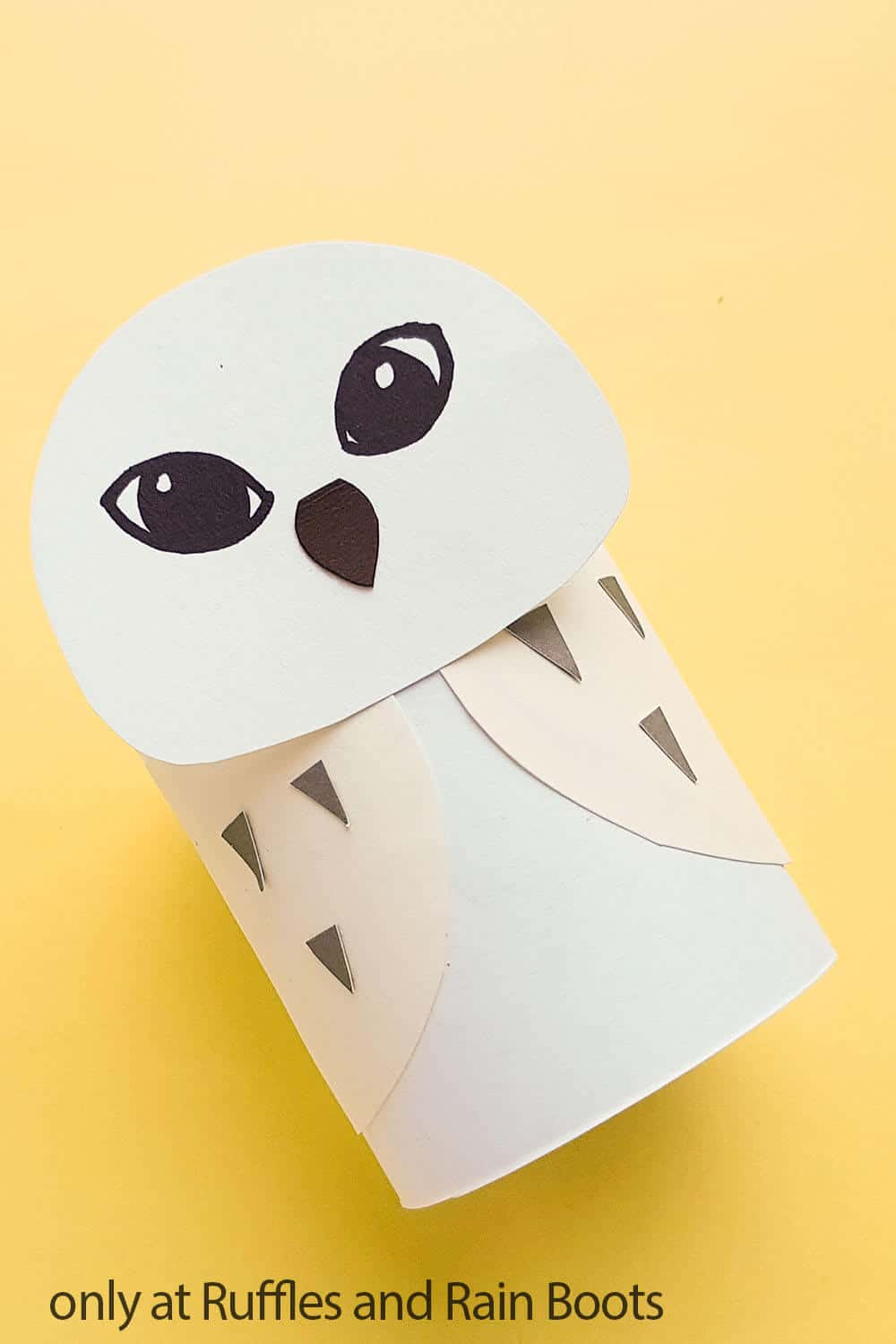 hedwig owl craft from paper