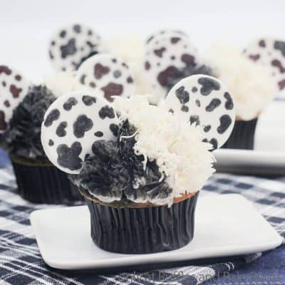 These Epically Easy Cruella DeVille Cupcakes are Wickedly Fun!