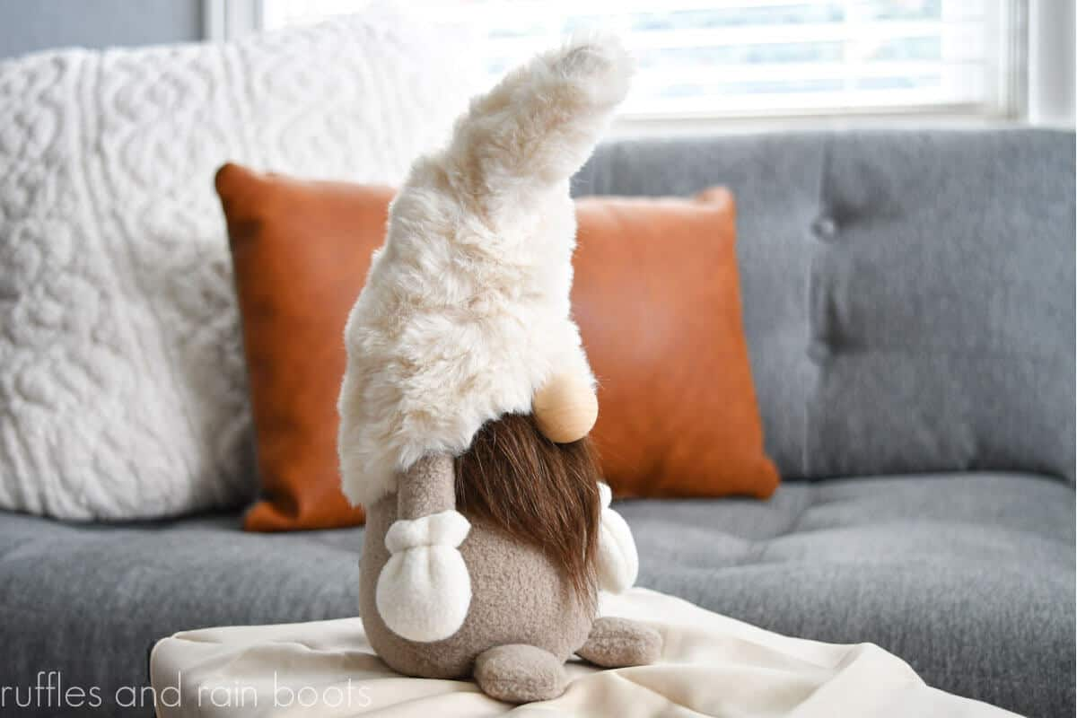 farmhouse gnome beginner sewing pattern