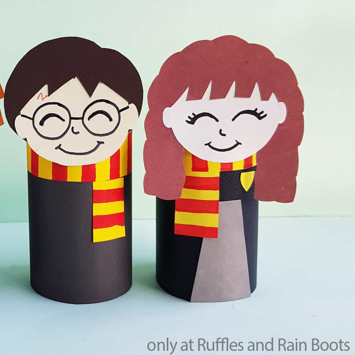 harry potter movie hermione paper doll from a paper roll