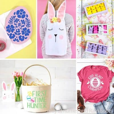 These Fun Easter Cricut Projects Make Fantastic Crafts for Easter Gifts!