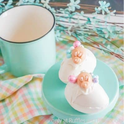 Make Fun and Easy Easter Bunny Hot Cocoa Bombs for an Easter Treat!
