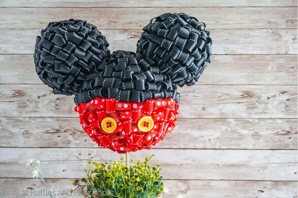 mickey mouse in a pot craft