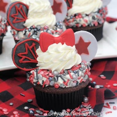 These Epic Falcon & Winter Soldier Cupcakes are Heroically Easy!