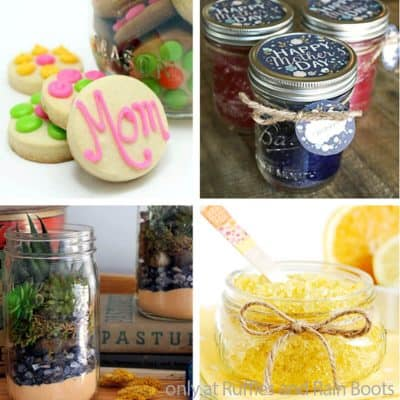 The Best Mother's Day Gift in a Jar Ideas You Can Make in Minutes!