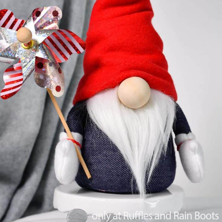 patriotic gnome sewing pattern