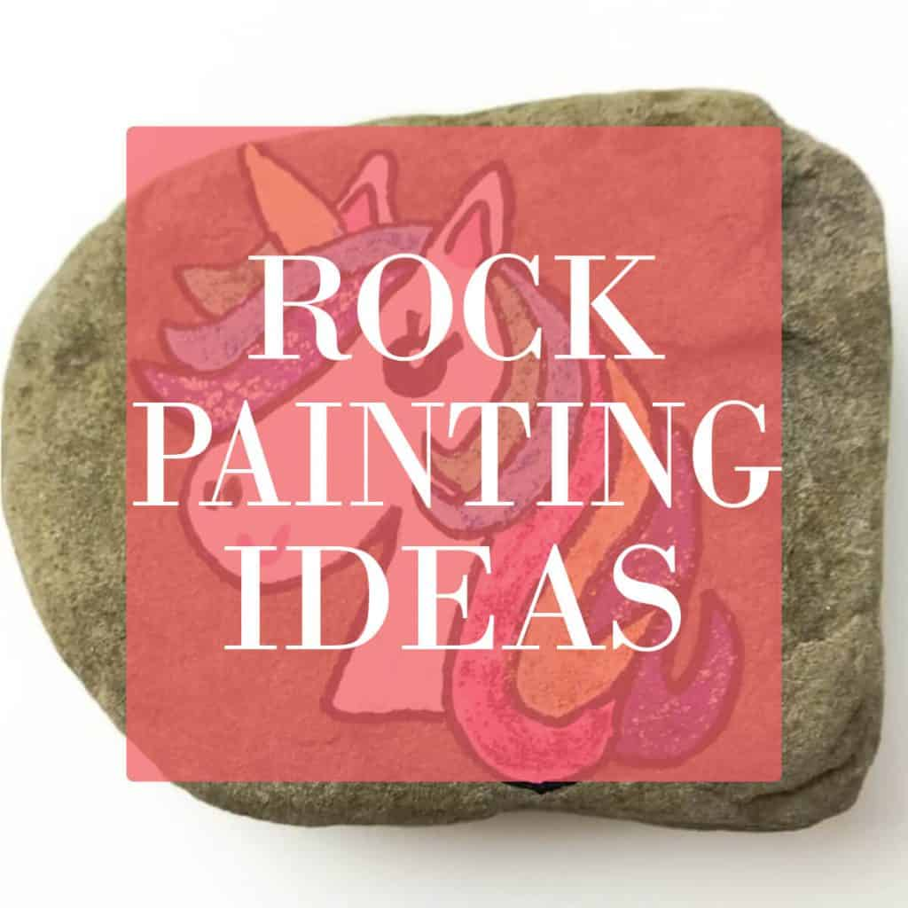 visit ruffles and rain boots for rock painting ideas and rock painting tutorials