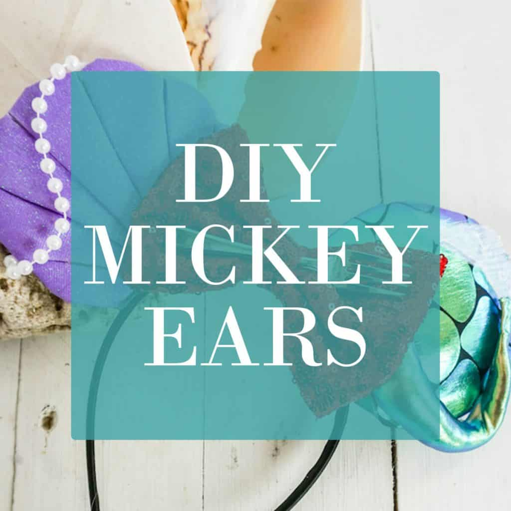 learn how to make diy mickey ears and minnie mouse ears for Disney trips and vacations