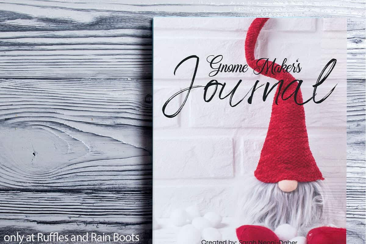 journal for making gnomes
