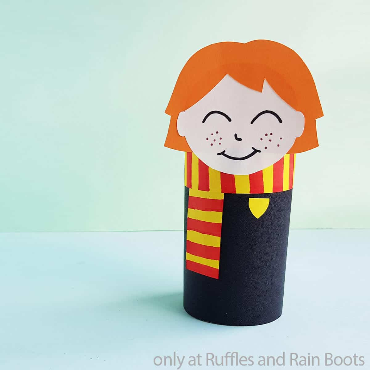 harry potter craft ron weasley paper doll