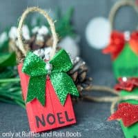 dollar tree christmas ornaments for kids