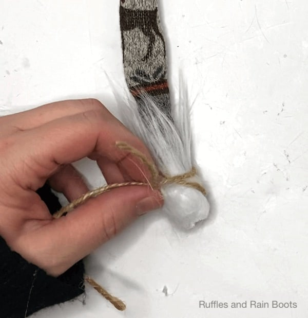 how to make a fur boot gnome