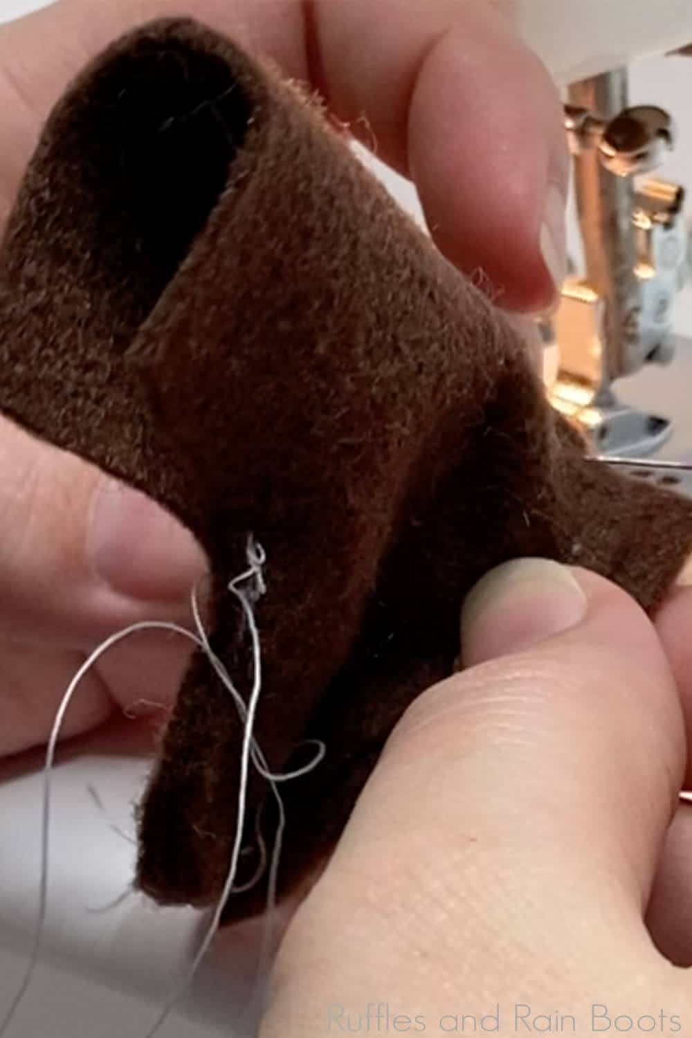 how to make boots for a pattern for a scarecrow gnome for autumn