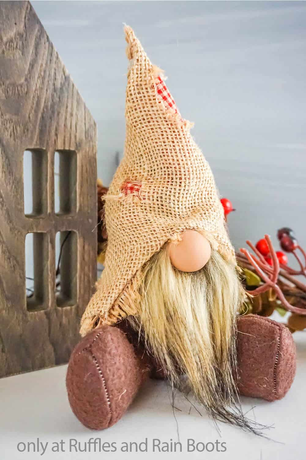 fall scarecrow gnome pattern