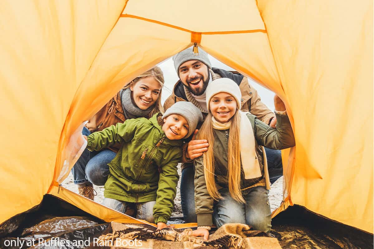 camping first timer tips