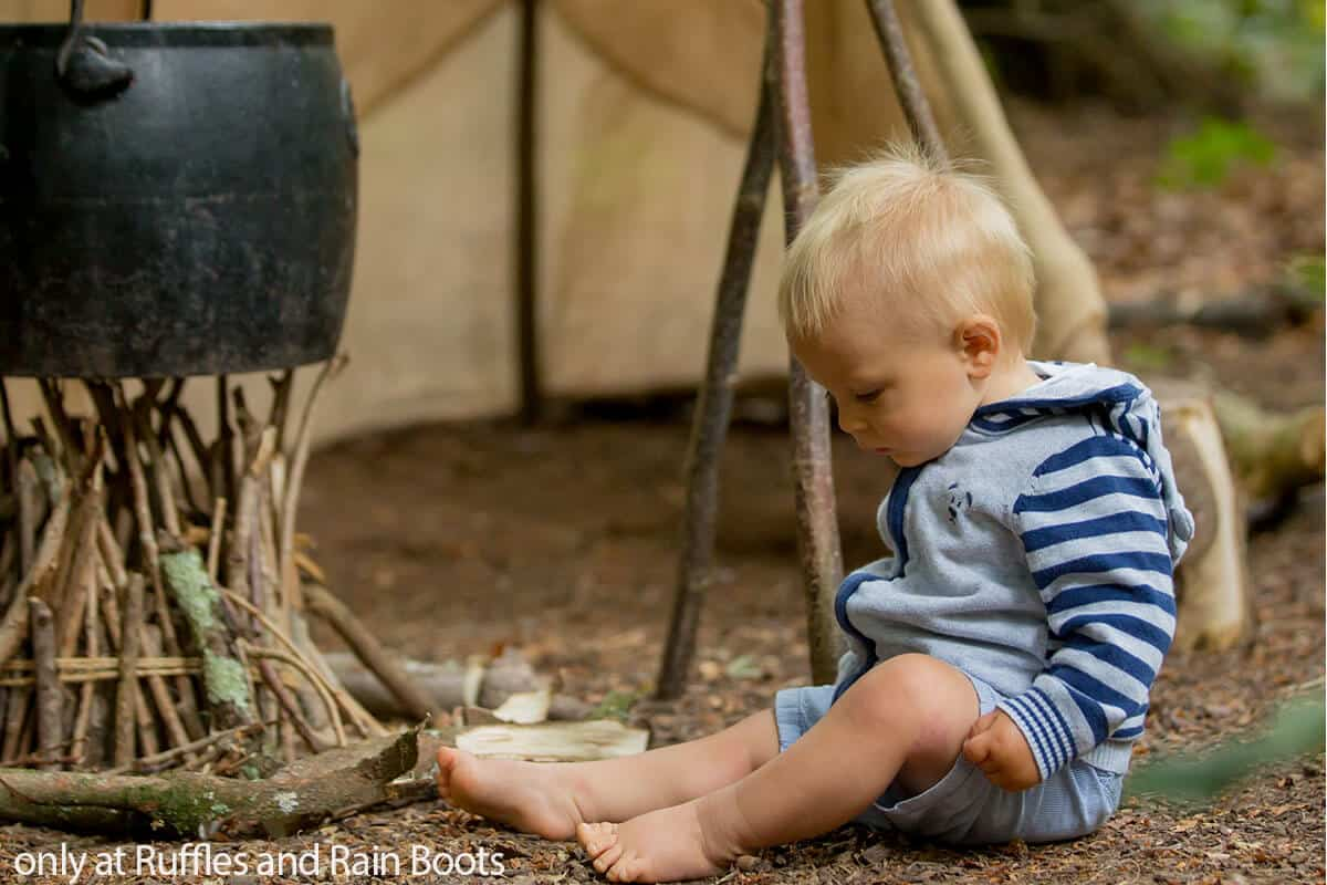 safety tips for camping with a baby