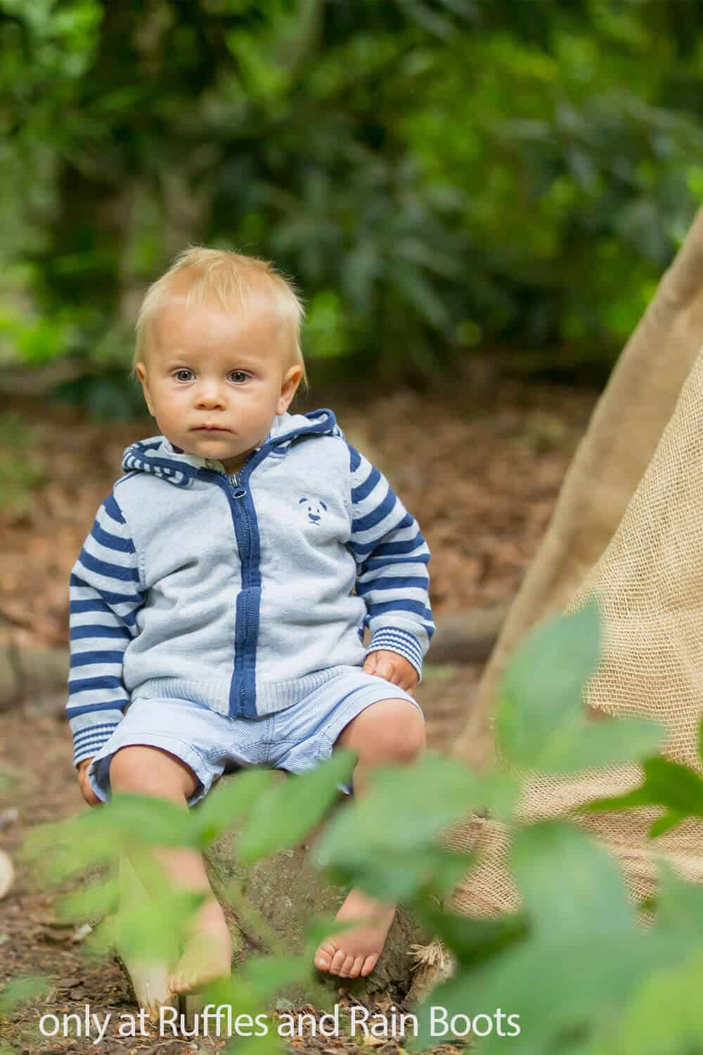 how to camp with a baby safely