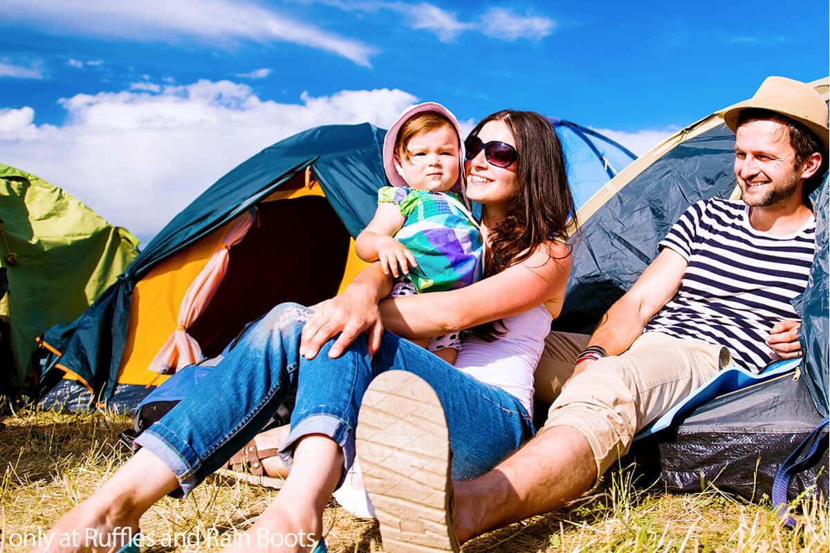 hacks for camping with toddlers