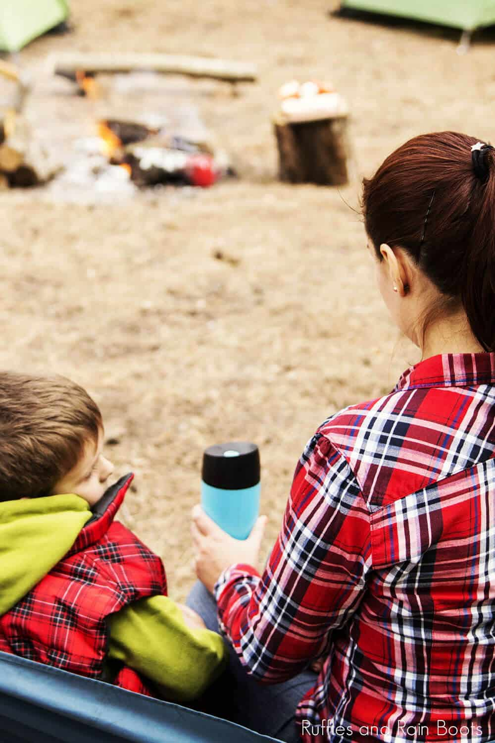 going camping with your toddler