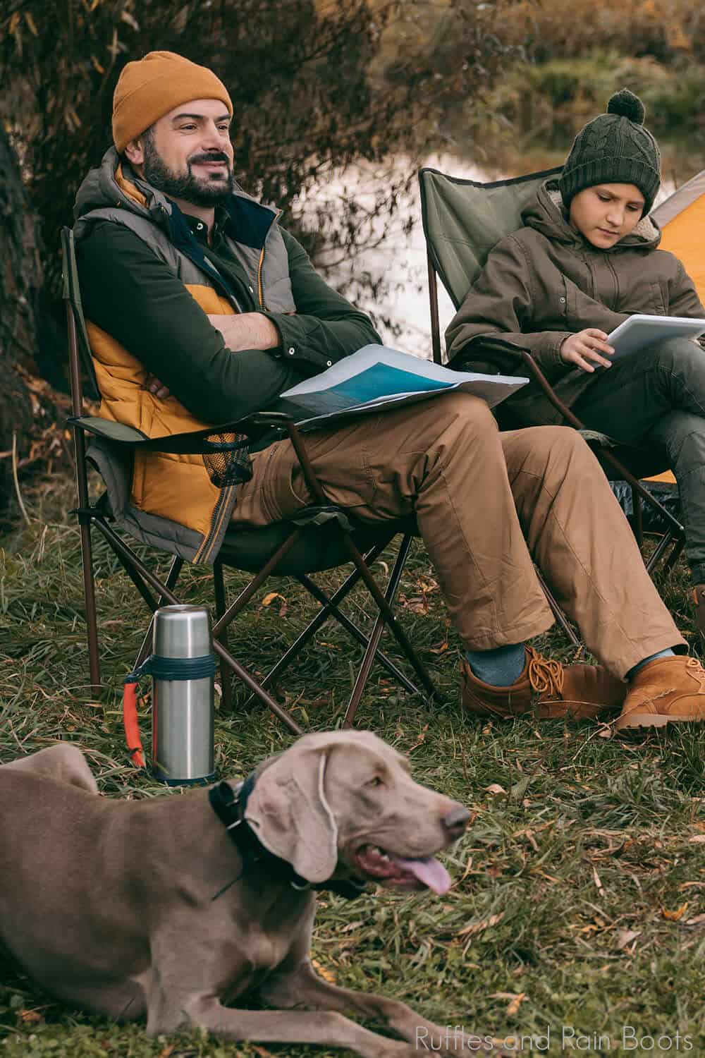 tips for keeping your dog safe while camping