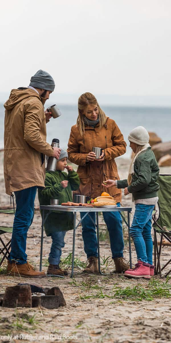fun chores for kids camping
